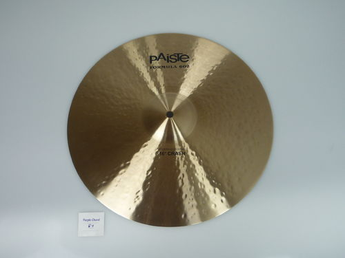"16"" Paiste 602 Modern Essential Crash, 1072 grams from 2013"