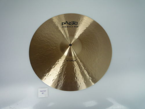 "18"" Paiste 602 Modern Essential Crash, 1467 grams from 2013"