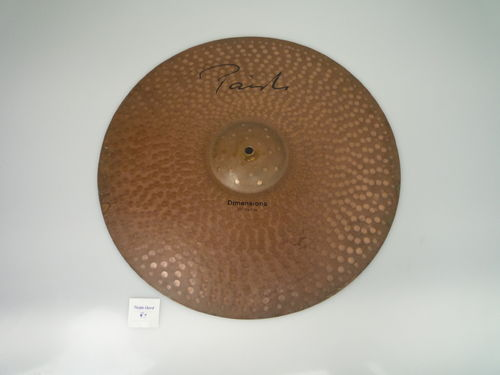 "20"" Paiste Dimensions Dry Ride, 2550 grams"