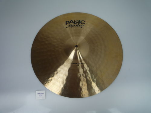 "20"" Paiste Masters Dark Crash, 1806 grams from 2015"