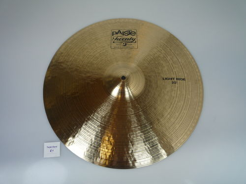 "20"" Paiste Twenty Light Ride 2090 grams, from 2008"