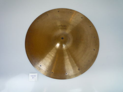 "18"" Paiste Stambul Medium with rivets' holes, 1273 grams from 1960's"