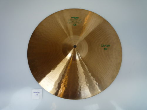 "18"" Paiste 505 Medium green logo 1388 grams, from 1983"