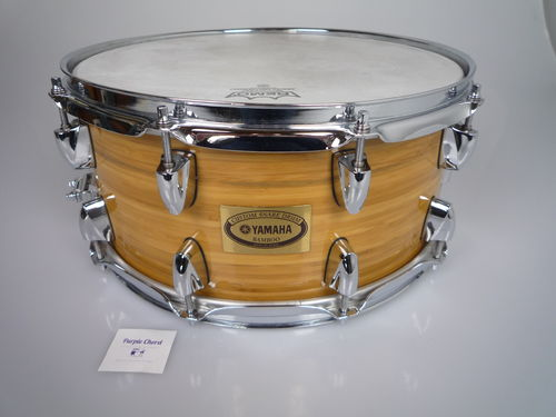 "Yamaha  Bamboo 14"" x 6.5"" Snare Drum BMSD1465 Natural Finish"