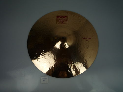 "20"" Paiste 2002 Wild Ride 2559 grams, from 2008"