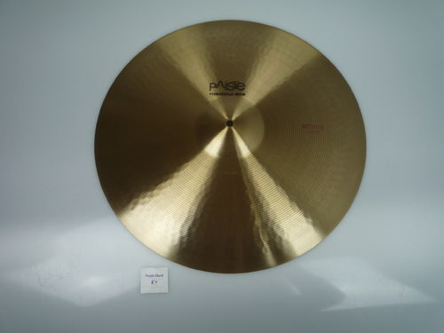 "20"" Paiste 602 Medium Ride 2524 gr, from 1979, excellent!"