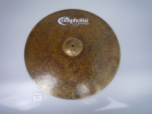 "22"" Bosphorus Masters Vintage Series crash, 2143 grams, used"