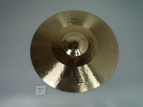 "18"" Zildjian K Custom Hybrid Crash, 1447 grams"