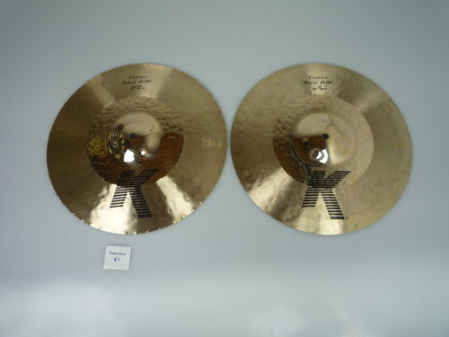 "14¼"" Zildjian K Custom Hi-Hat, 1265 and 1104 grams"
