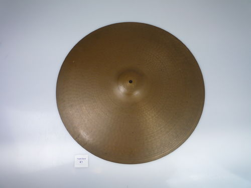 "22"" Paiste 2002 Ride black logo, 2925 grams, from 1976"