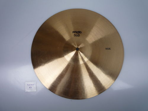 "16"" Paiste 505 Ride black logo preserial, 1099 grams"
