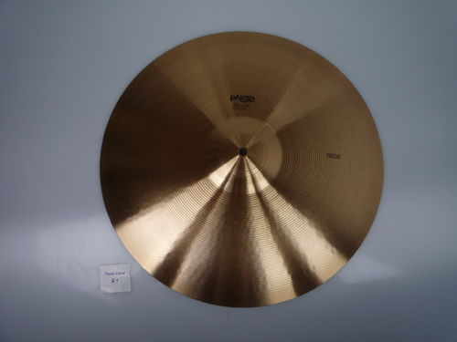 "18"" Paiste 505 Ride black logo preserial, 1651 grams"