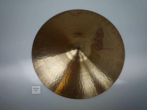 "20"" Paiste Dixie Medium Thin, 1544 grams from 1960's"