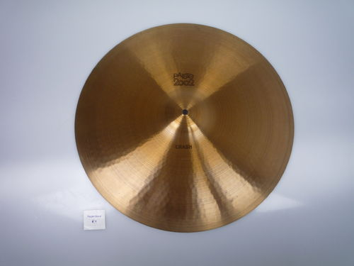 "20"" Paiste 2002 Crash 1839 grams, black logo from 1976"