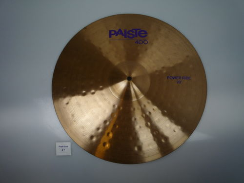 "20"" Paiste 400 Power Ride, 2235 grams from 1991"