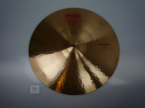 "18"" Paiste 2002 Medium red logo, 1526 grams, from 1985"