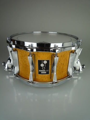"Sonor Lite LD 557 MB Snare Drum 14"" x 7¼"", Scandinavian Birch finish, MINT!"
