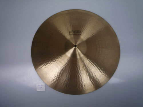 "20"" Paiste 602 Medium black logo, 2275 gr, from 1975"