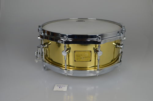 "Sonor Signature snare Horst Link SY 1406 Brass shell, 14"" x 6"""