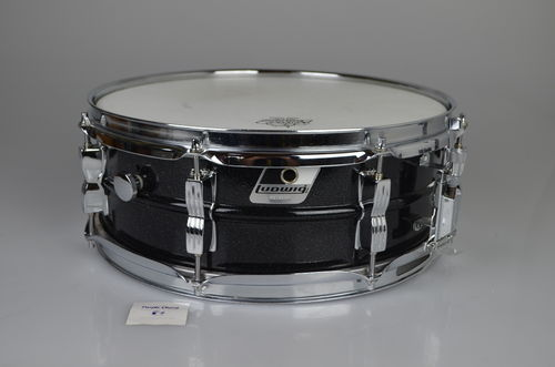 "Ludwig LM404 Acrolite Black Galaxy snare drum 14"" x 5"""
