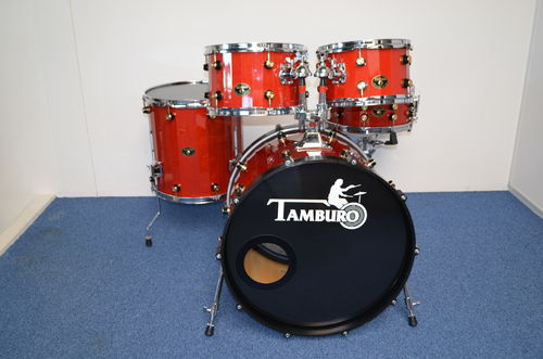 "Tamburo Opera 2098 series, 22""-12""-13""-16""- snare drum 14"" x 6,5"""