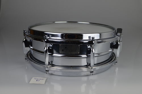 "Sonor D-444 COB snare drum 14"" x 5"", chrome over brass from 1960's"
