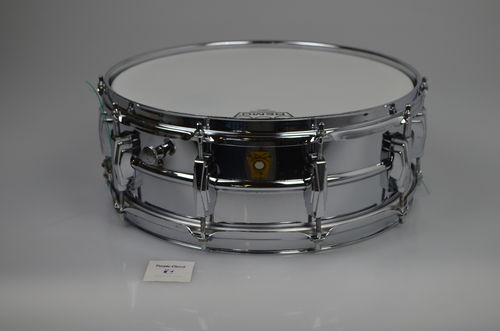 "1960-62 COB Super Ludwig Supraphonic 14"" x 5""  snare drum Brass Shell"