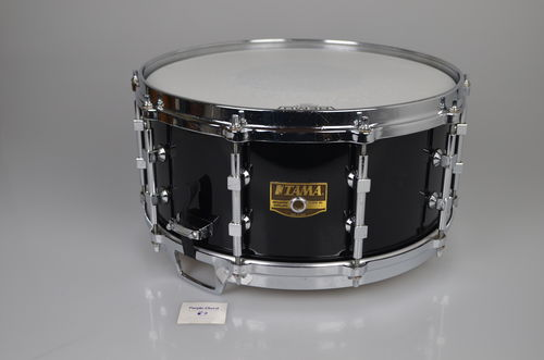 "Tama Artwood AW-526 snare drum 14"" x 6,5"" piano black, from early 1990's"