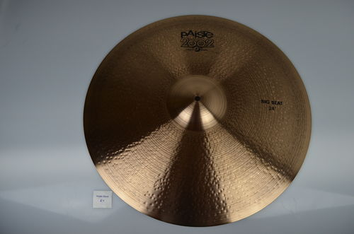 "24"" Paiste 2002 Black Big Beat, 2824 grams from 2016"