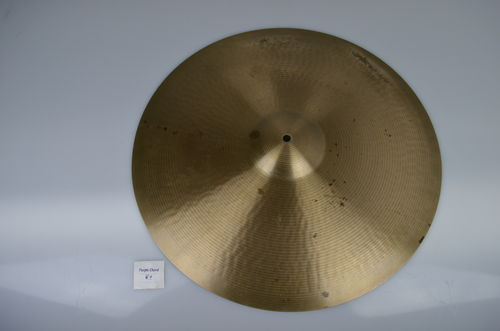 "20"" Paiste 602 Ride Pre-Serial, 2399 grams from 1960's"