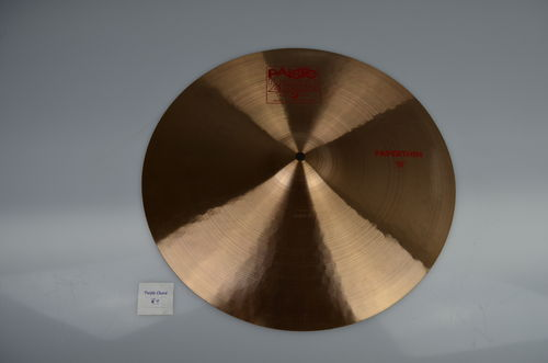 "18"" Paiste 2002 Paper Thin Crash red logo, 1105 grams from 2006"