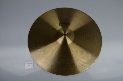"18"" Paiste 602 Thin, 1415 grams, from 1979"