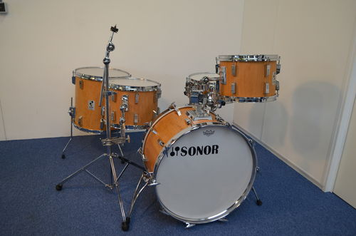 "Sonor Phonic 9-ply drum kit 22""-13""-14""-16"", natural beech"