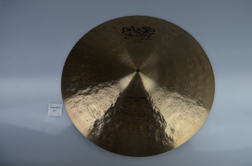 "20"" Paiste Twenty Masters Dark Ride with 2 rivets, 1973 grams from 2011"