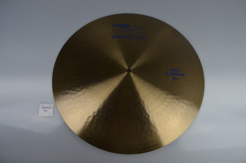 "20"" Paiste 602 Thin Flat Ride blue logo, 2067 grams from 1985"