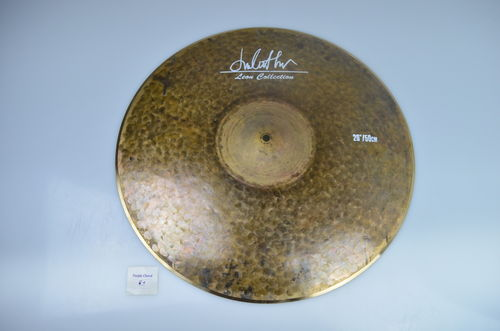 "20"" Leon Collection Raw Finish Low Bell ride, 1645 grams"