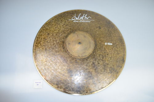 "21"" Leon Collection Raw Finish Low Bell ride, 2000 grams"