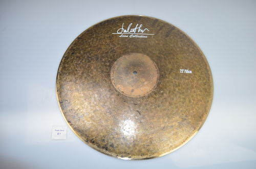 "22"" Leon Collection Raw Finish Low Bell ride, 2385 grams"