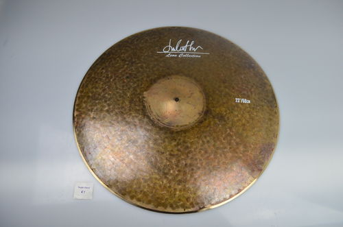 "23"" Leon Collection Raw Finish Low Bell ride, 2425 grams"