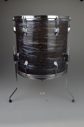 "SwingStar (Tama) Floor Tom 14"" x 14"" Oyster Pearl finish, from late 1960's"