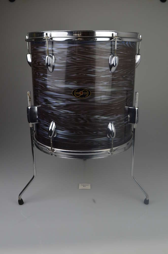 Swingstar Tama Floor Tom 14 X 14 Oyster Pearl Finish From