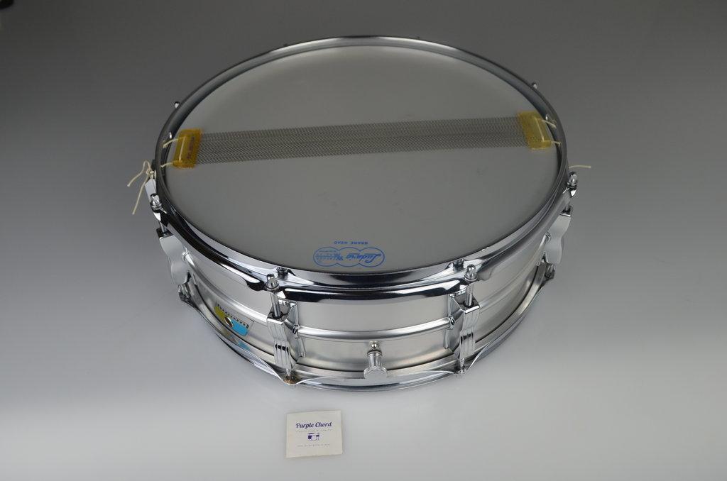 ludwig l404 acrolite snare drum 14 x 5 from 1970. Black Bedroom Furniture Sets. Home Design Ideas