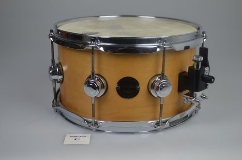 "DW Craviotto Solid maple snare drum 12"" x 6"", very rare!"