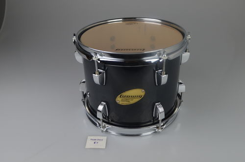 "Ludwig Accent CS Custom Tom 10"" x 8"", charcoal finish"