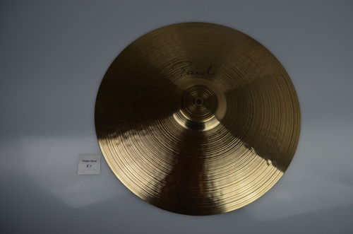 "18"" Paiste Signature Chrystal Thin 1320 grams from 2008"