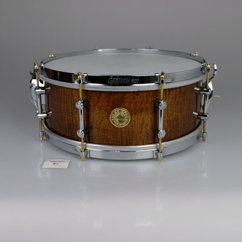 "Gretsch 125th Anniversary Antique Maple 14"" x 5.5"" snare drum, from 2008"