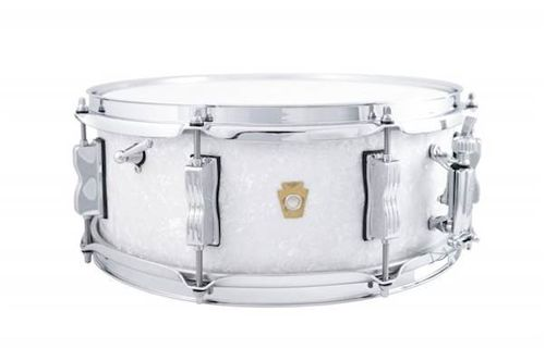 "Ludwig Jazz Fest Legacy 14"" x 5,5"" snare drum, White Marine Pearl"