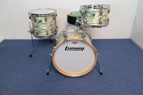 "Ludwig Classic Maple BOP Jazzset 18""-12""-14"" NOS"
