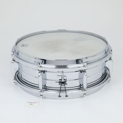 "Sonor D-444 14"" x 5"" COB snare drum, chrome over brass from 1960's"
