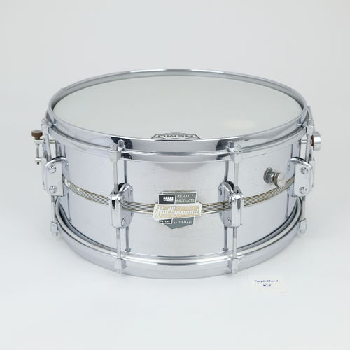 "Hollywood Meazzi President All Metal snare drum 14"" x 5,5"", metal shell"